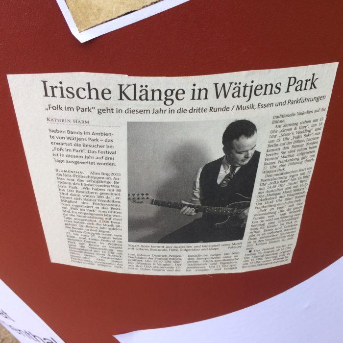 LOCAL PROMO: Folk Im Park Festival - Bremen, Germany